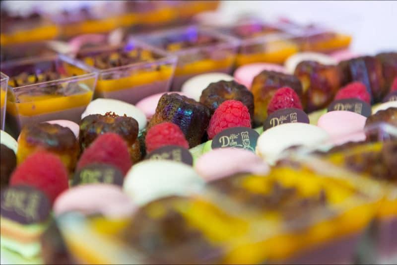 Photo gros plan des desserts